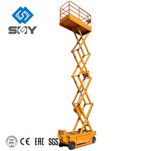 Doppelter Mast-Aluminiumarbeits-Aufzug