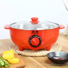 Portable multi-purpose non-stick stainless steel electric hot pot electric stew pot electric slow cooker