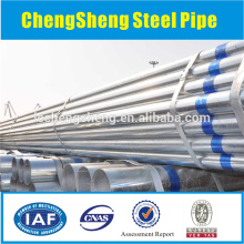 Galvanized Cold drawn steel seamless steel pipe sizes