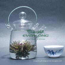 100% artesanal flor artística chá de florescência (BT005)