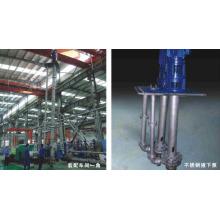 Нержавеющая сталь длинные вертикальные Канализационные центробежные водяной насос