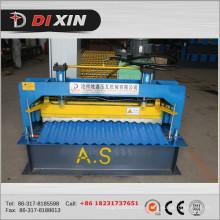Machine de formage de rouleaux en feuille galvanisée ondulée Dx 850