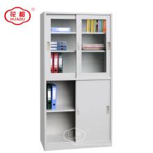 Huadu design moderno porta de correr à prova d 'água armário de armazenamento de metal armário