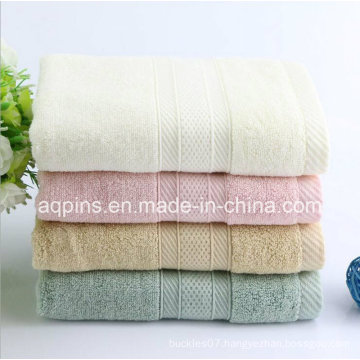 100% Combed Cotton Towel with Logo (AQ-022)