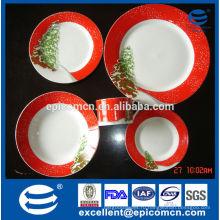 Рождественская елка украшены подарочный набор штраф фарфоровая посуда