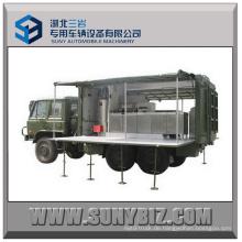 6X6 Lkw Dongfeng Off-Road Self-Prepelled Küche Fahrzeug Mobile Kantine