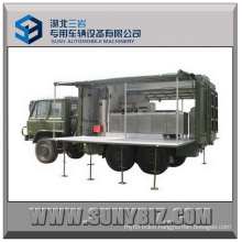 6X6 Truck Dongfeng off-Road Self-Prepelled Kitchen Vehicle Mobile Canteen