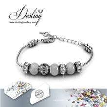 Schicksal Schmuck Kristall von Swarovski Roxy Perlen Armband