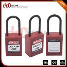 Mercadorias eletronicas de alta demanda cadeado de segurança colorido especial Oem com chave