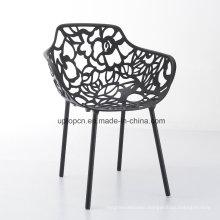 Outdoor Hollow Design Metal Restaurant Chair (SP-MC057)
