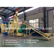 New Designed Vertical Ring Die Biomass Wood Pellet Plant