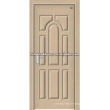 Kommerzielle PVC Tür Holz Tür mit PVC-Folie JKD-1817 für Interior Room