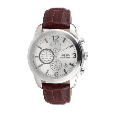 Relógio de quartzo elegante para homem