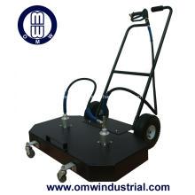 """Limpiador de superficies de 48 """"con ruedas giratorias dobles"""