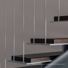 Popular ss railing accessory square rod bar staircase railing