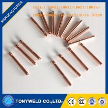 Горелки TIG сварки 10N23 цанги 1.6 мм