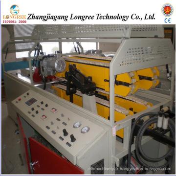 Ligne de production de tuyaux double en PVC