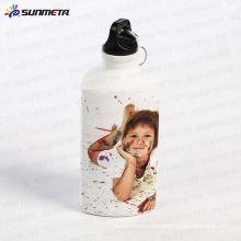 Sunmeta Nouvelle Arrivée Sublimation Triangle Shape Aluminium Sports Water Bottle