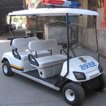 4seats patroli golf cart / polisi golf cart
