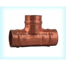 Customized Quality Copper Equal Solder Tee (AV8049)