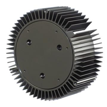 Custom anodized led light aluminium extrusion profile heat sink