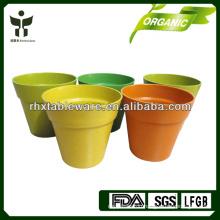 100% natural bamboo flower pots