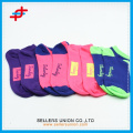 Spring solid color ankle socks of heart pattern for young girls,fashion for sport