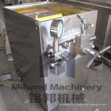 Machine à haute pression d'équipement d'homogénéisateur d'acier inoxydable 25MPA MILK