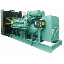 2MW diesel generator with power plant design