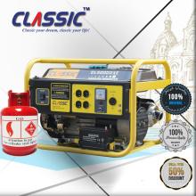 CLASSIC (CHINA) Kupferdraht-Erdgas-Hauptgeneratoren, Erdgas-Haus-Generator mit Rädern, Erdgas-beweglicher Generator