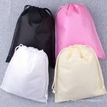 custom Non-woven fabric storage environmental rope bag drawstring dust-proof bundle pocket