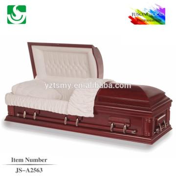 selected velvet interior competitive polished casket