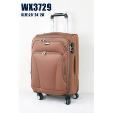 wheels polyester luggages trolleys beauty luggage sets