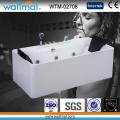 Rectangular Freestanding Whirlpool Massage Bathtub with Jacuzzi Function (WTM-02708)