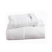 Горячий продавать белый сжатый полотенце,вышить узор детское полотенце