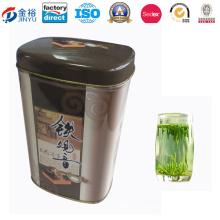 Metal Chinese Green Tea Airtight Tea Tin for Tea Coffee