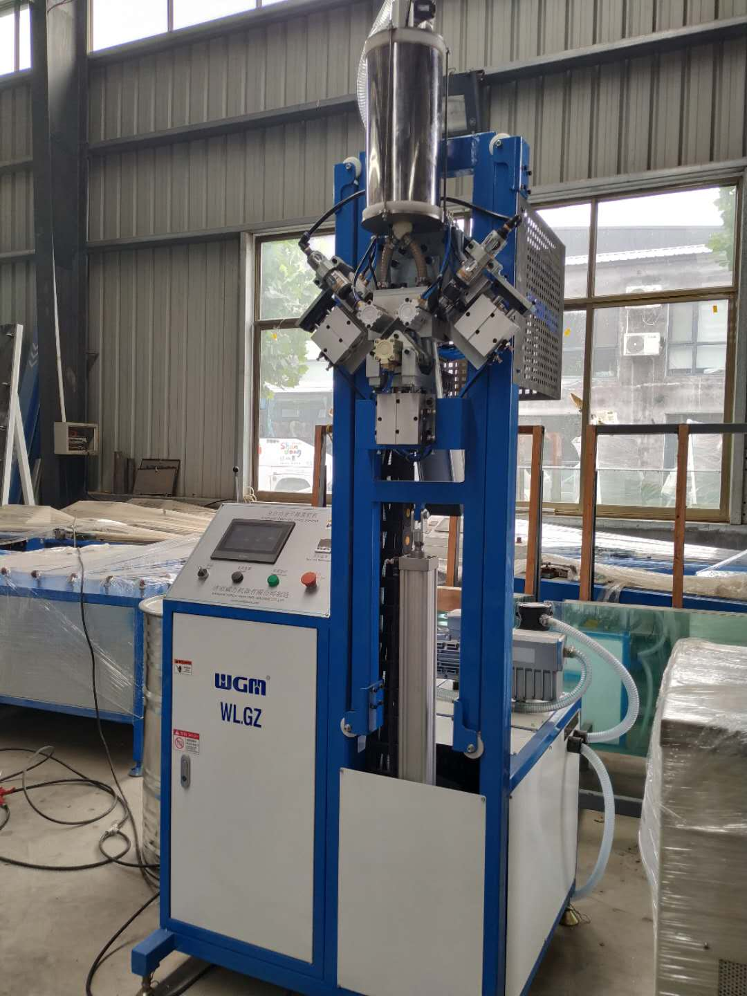 IGU double glazing glass desiccant filling machine