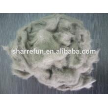 Fibre de laine visonée et cardée chinoise