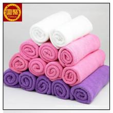 Toalha de microfibra personalizado barato para limpeza, microfibra de toalha sólida