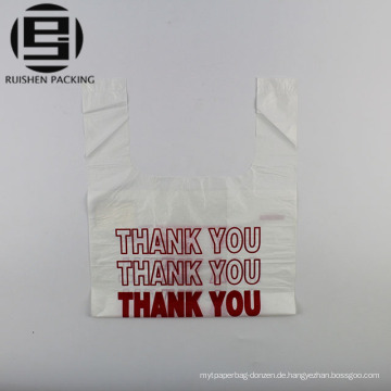 Gedruckt danke T-Shirt Plastiktüte zu verkaufen