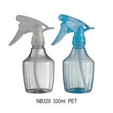 Bouteille de pulvérisateur en plastique pour bouteille 330ml (NB329)