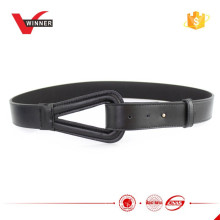 2015 Ladies Durable Black Leather Belts