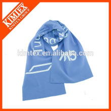 Wholesale blue scarf polyester