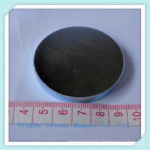 Big Size Disc Neodymium Permanent Magnet with Zinc Plating