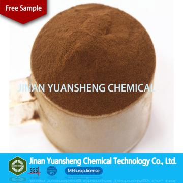 Pâte à pâtes de briqueterie en charbon ou dispersant en céramique Sulfate de ligno sodique