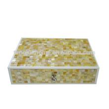 CGM-AB Hotel Lieferungen Goldener Perlmutt Amenity Box