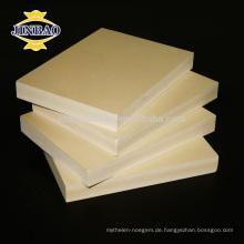 JINBAO wasserdichte WPC celuka Platte / Schaumbrett / PVC Blatt für Bau