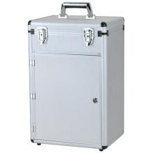 Custom Sliver Color Aluminum Carrying Tool Case
