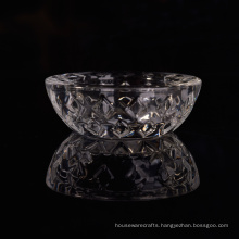 Popular Transparent Glass Tea Light Holder