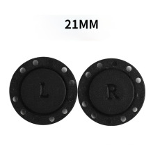 Factory Low Price 21mm Plastic Magnetic Button Custom Clothing Decoration Handwork Magnetic Buttons For Clothing